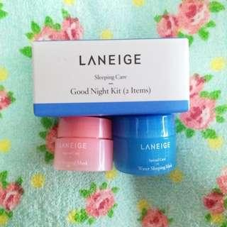 Laneige Goodnight Sleeping Care Kit 2