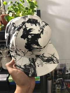 White marble hat