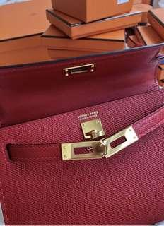Hermès Kelly complete inclusion with original invoice