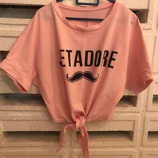 Second Hand Pink Top Shirt