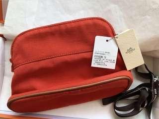 Hermès cosmetic pouch