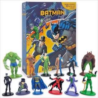 [DC Batman] My Busy Book -12 Figurines and a play-mat