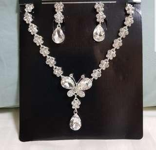 Fashion Necklace + Earring Set