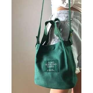 🚚 SALES [INSTOCKS] Canvas Convenient Mini Sling Tote Bag korean trendy bag