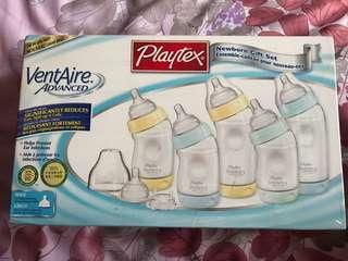 美國品牌 倍兒樂 Playtex 寬口防脹氣奶瓶