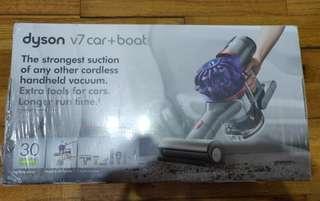 Dyson v7 car+boat 美版 六個頭+car charger