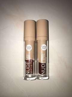 Cathy Doll | Nude Me Liquid Lip Matte #OCT10