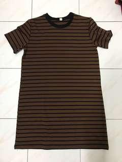 Long Striped Blouse #OCT10