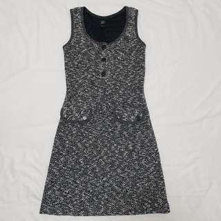 GG5 Tweed Dress (Black)