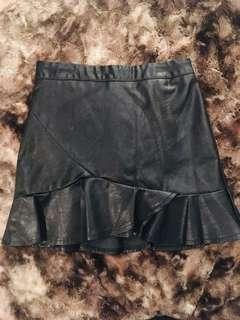 Leather skirt small