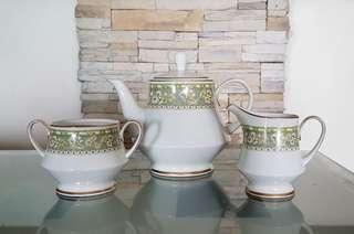 Noritake 3 pc Tea Set