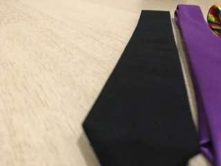 Skinny tie black (skinny wide)