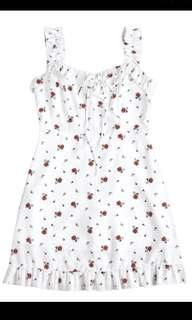 Floral Ruffles Dress