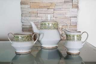 Noritake 3 piece Tea Set