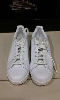 Stan smith adidas ORIGINAL Sz 44 all white (rare)