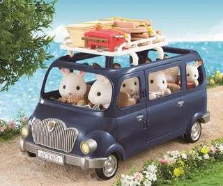 *In Stock* BN Sylvanian Calico Critters Epoch BBQ Picnic Set with Roof Rack Carrier for Family Saloon Car or Bluebell Seven Seater (CAR NOT INCLUDED)