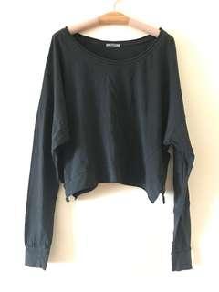 🎊Sale $80👍🏻(Italy) Motel Bat-sleeves Top