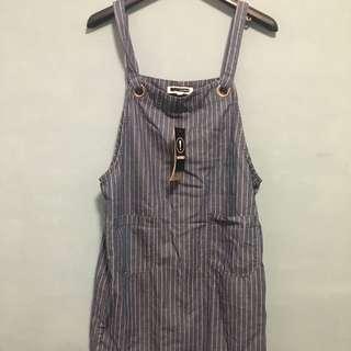 H:connect 韓 百貨購入 牛仔吊帶裙