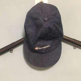 棒球帽 champion 牛仔藍 日本購入