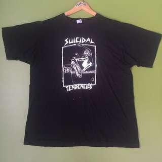 Kaos Lawas Vintage 80an SUICIDAL TENDECIES 1983