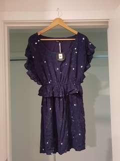 RRP $90 BNWT Sass Celestial Dress
