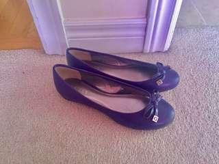 Purple Guess Flats