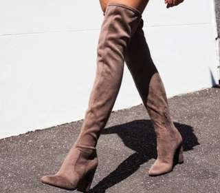 RRP $260 New Windsor Smith thigh high boots