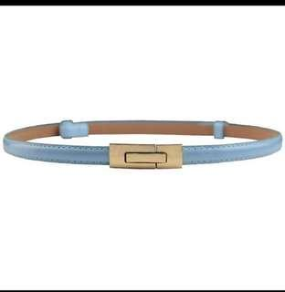 🚚 Belt with Gold Buckle