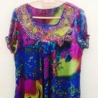 🆕Chiffon Dress M #OCT10