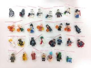 LEGO Compatible Clearance Minifigures