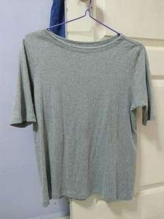 uniqlo grey top