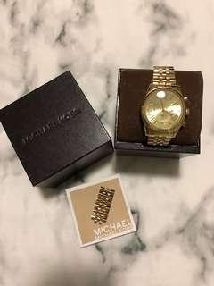 Michael Kors gold Lexington watch