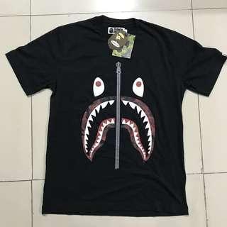 Bape Camo Shark Tee 100% Original Black Market