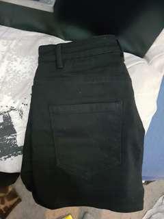 Hot black denim shirts