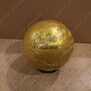 BNIB Brunswick Kingpin Gold Special Edition has just arrived! (WWR: 19 September 2018)