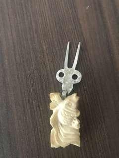 Puteh Fork bone material
