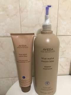 Aveda Blue Malva Shampoo & Conditioner