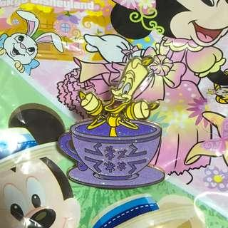 迪士尼襟章 盧米亞(Lumiere beauty and the beast/Disney Pin Trade logo)
