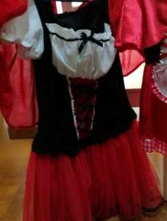 Halloween Costume from Japan ( Red Riding hood)