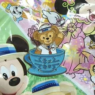 迪士尼襟章 Duffy (Duffy and friends/Disney Pin Trade logo)