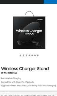 Samsung Wireless Charging Stand with wall charger /Brand New