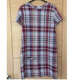 #OCT10 Zara Classic Favorite Checkered Dress