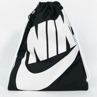 Nike Drawstring Bag Heritage School Backpack Gymsack