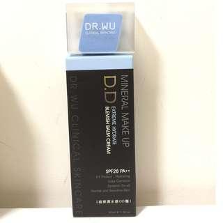 ●便宜出清●DR.WU 超保濕水感DD霜(含粉撲)