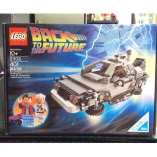 Lego 21103 - The DeLorean Time Machine (New) New