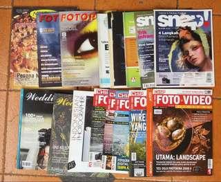 Majalah Fotografi (16 eksemplar)