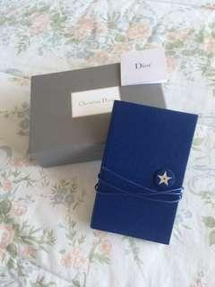 Christian Dior note book