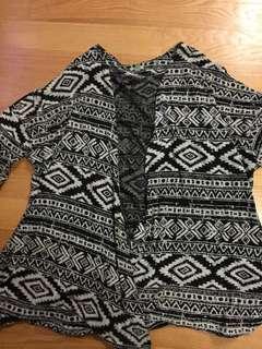 UO Aztec cardigan