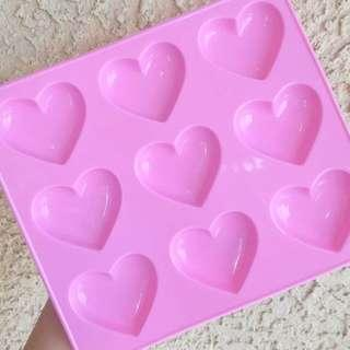 Puffy Heart Mould