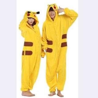 Pikachu onesie costume
